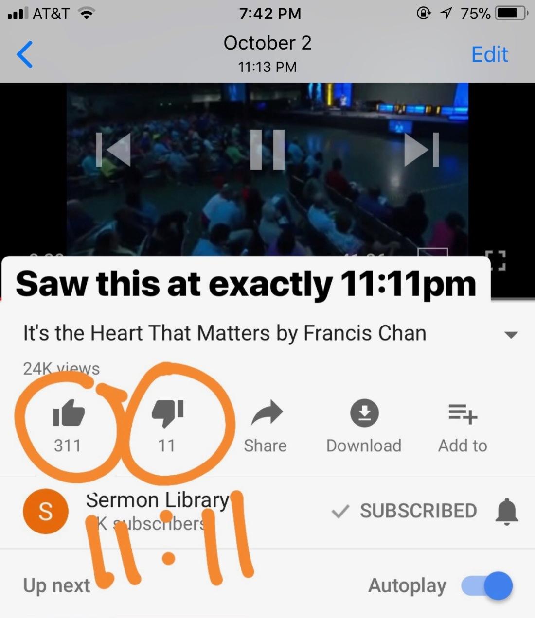 1111 youtube